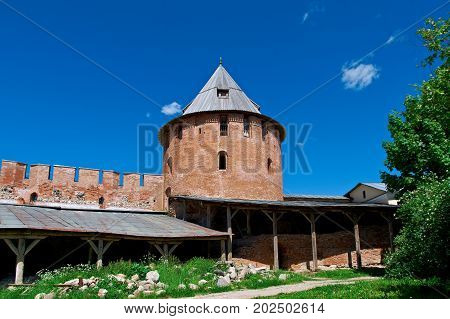 Veliky Novgorod. Novgorod Kremlin Russia, russian travel