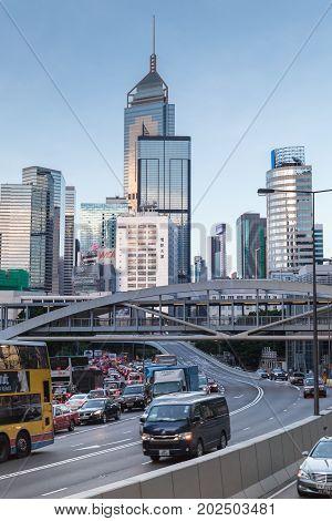 Hong Kong, Connaught Rd Central