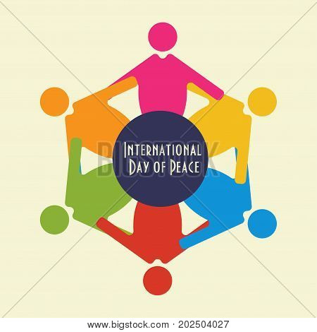 Vector illustration for the International Day of Peace, sometimes unofficially known as World Peace Day, a holiday observed annually on 21 September. Observed also by United Nations.