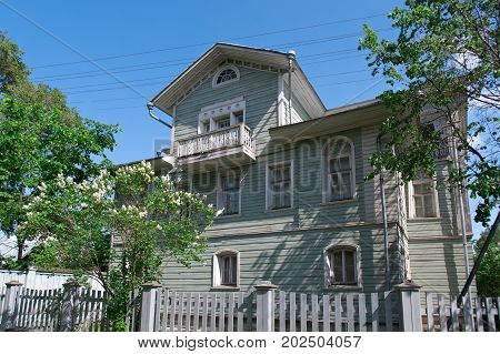 Russian Carved Frames Of Wooden Houses