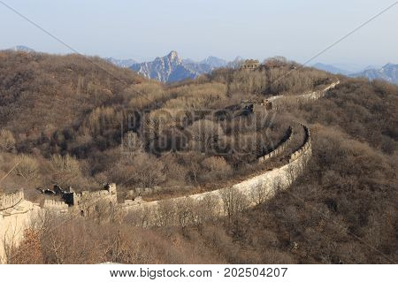 The Great Wall Of China. The Great Wall Of China Is The World's Longest Wall And Biggest Ancient Arc