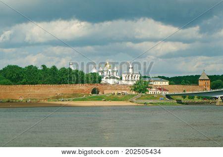 Veliky Novgorod. Novgorod Kremlin. Russia, russian travel
