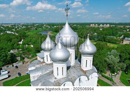 Sofia Cathedral Vologda Kremlin. Russia, russian travel