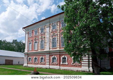 Kremlin Square in Vologda Russia.  russian travel