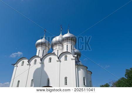 Sofia Cathedral Vologda Kremlin.Russia , russian   travel