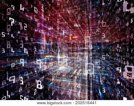 Computing Digital Space