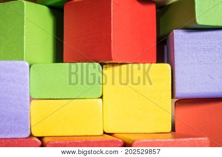 colorful block toys or wooden block toys for kids