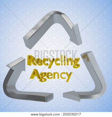 Recycling Agency Concept