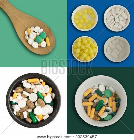 Medicine Pills Isolated
