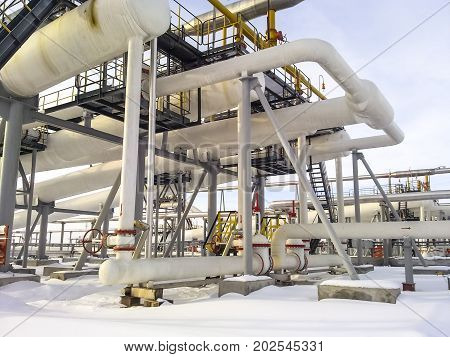 The End Phase Divider Is Tubular. Equipment For Separating Water From Oil. Equipment Oil Fields Of W
