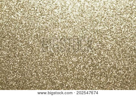 Background filled with shiny silver color glitter.