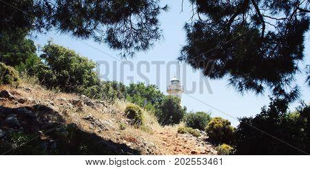Gelidonya Lighthouse. Lycian Way Walking. Hiking.