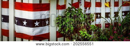 Patriotism on full display in southern California.