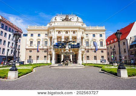 Slovak National Theater, Bratislava