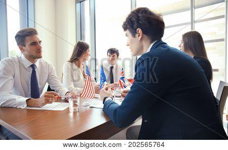 Diversity people talk the international conference partnership
