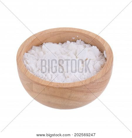 White Corn Flour Powder A Popular Food Ingredient Used In Baking And For Thickening Sauces Or Soups