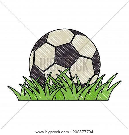 football soccer ball icon vector illustration graphic design