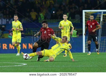 Fifa World Cup 2018 Ukraine Vs Turkey In Kharkiv, Ukraine