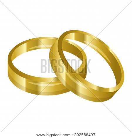 wedding ring married icon vector illustration graphic design