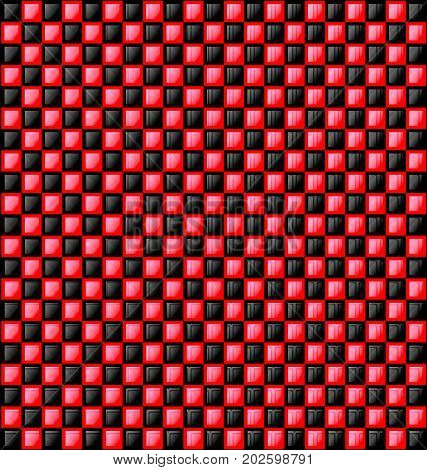 abstract colored background image consisting of lines with red and black glossy blocks
