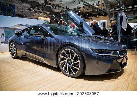 Bmw I8 Electric Sports Car
