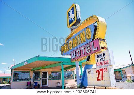 Palomino Motel On Historic Route 66.
