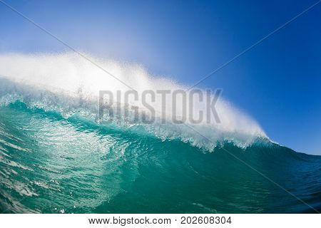 Wave Hollow Inside Swimming