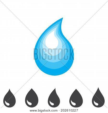 Blue Drop  Icon