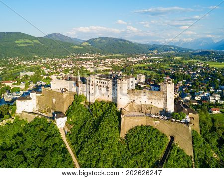 Salzburg Aerial View, Austria