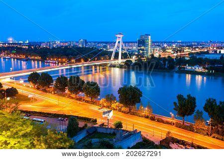 Most Snp Bridge, Bratislava