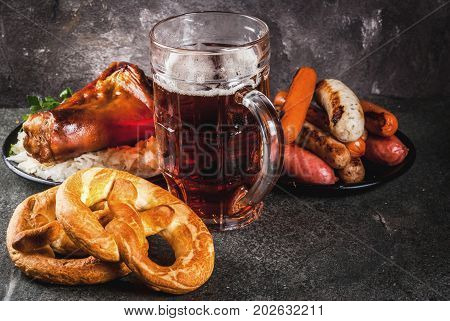 Selection Food For Oktoberfest