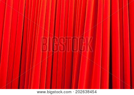 Red Theatrical Curtain Pattern, Background