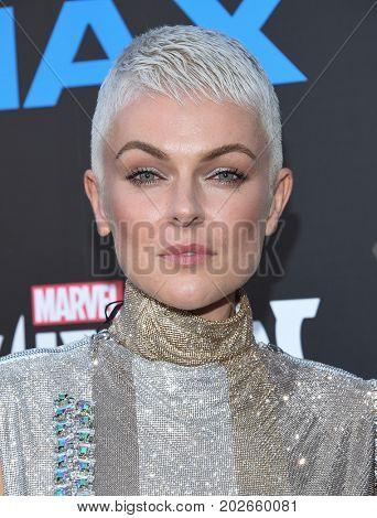 LOS ANGELES - AUG 28:  Serinda Swan arrives for the Marvel's