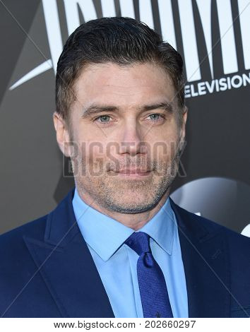 LOS ANGELES - AUG 28:  Anson Mount arrives for the Marvel's