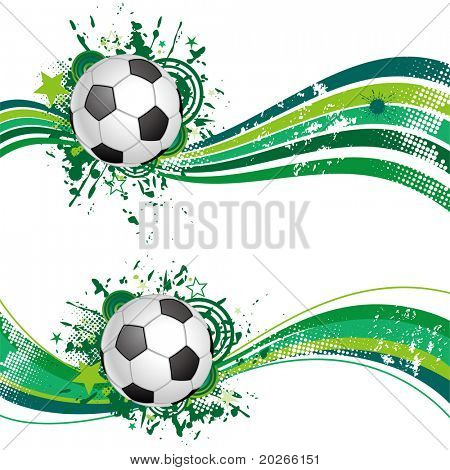 soccer design element