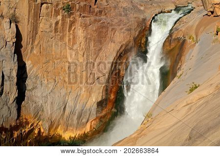 Main waterfall of the Augrabies Falls National Park, South Africa