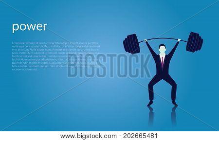 Business Power Strength Concept