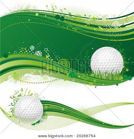 golf sport design element