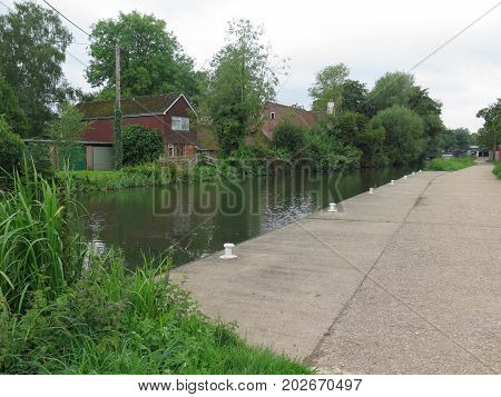 Canal Mooring Site