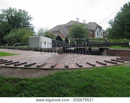 Canal Lock Beam