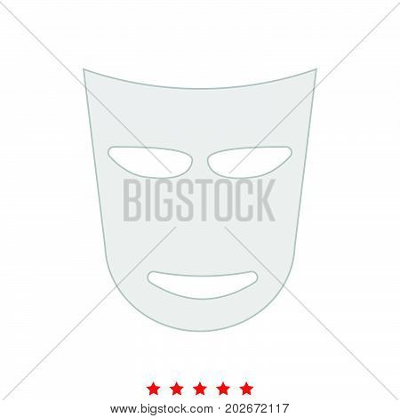 Theater Mask It Is Icon .
