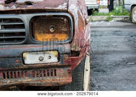 Rust, car damage and corrosionOld unavailable.Rust, car damage and corrosionOld unavailable.