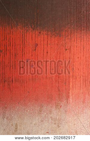 Three type color texture with brown red and white color. The texture has cracked areas. Brown is on the top red in the middle and white on the bottom.