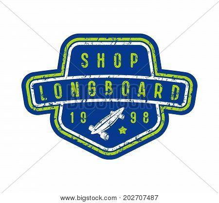 Badge Of Longboard Shop