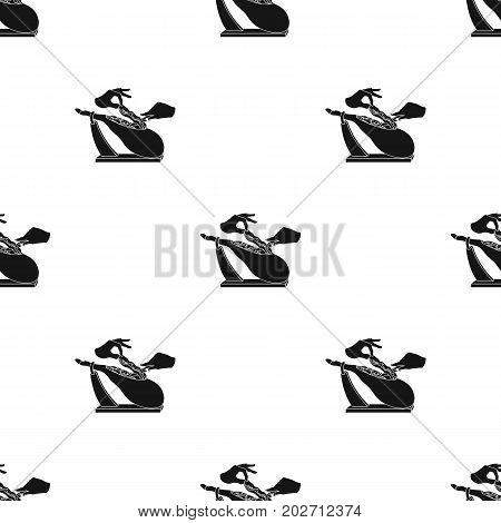 meat single icon in black style.Meat vector symbol stock illustration .
