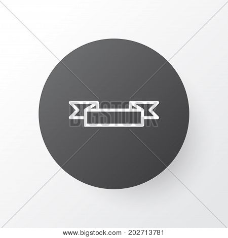 Premium Quality Isolated Placard Element In Trendy Style.  Poster Icon Symbol.