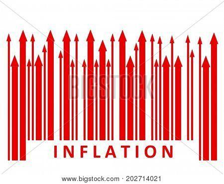 Inflation bar code