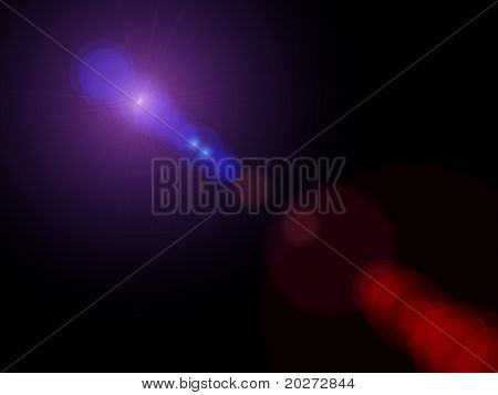 Lights background. Computer designed