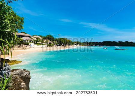 Lembongan Tropical Island, One Of Popular Attractions In Bali, Indonesia
