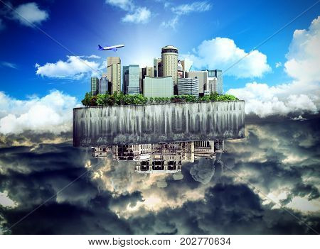 Concept Of The Revival Of Society And Of Changing Thinking Apocalyptic Concept Background Of Futuris